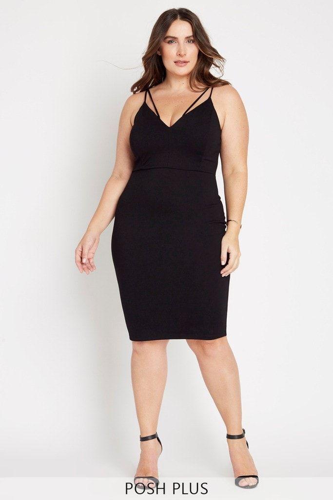 Deal Breaker Bodycon Dress Plus Size Slimming For Plus Pinterest
