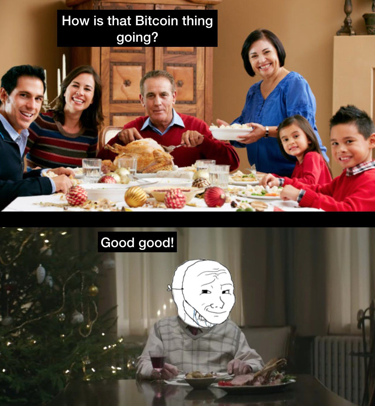 Happy Holidays! (With images) Bitcoin, Memes, Cryptocurrency