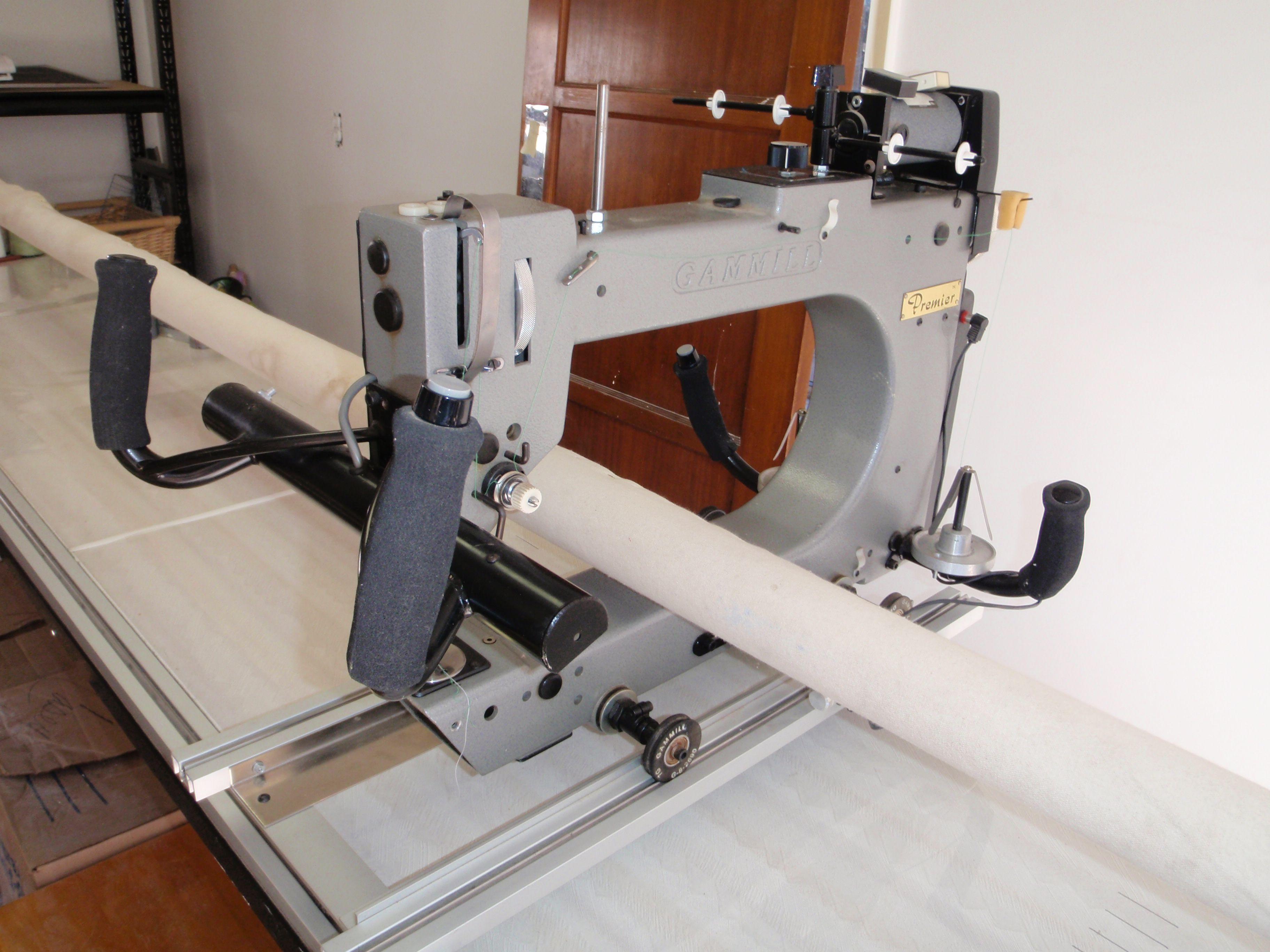 Gammill Premier 18-8 Mid arm quilting machine 12 foot table. http ... : affordable long arm quilting machines - Adamdwight.com