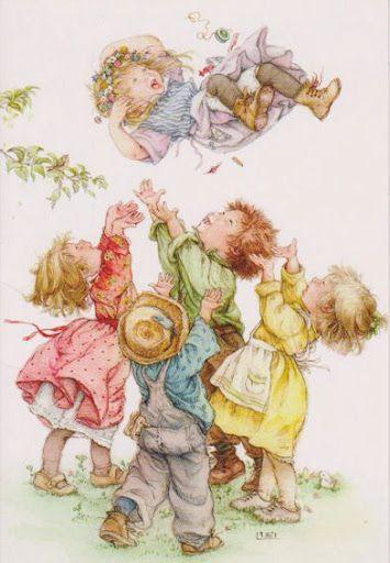Children playing Lisi Martin