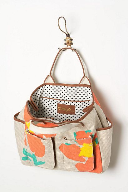 anthro beach bag