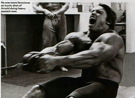 Arnold Was A Beast In The Gym