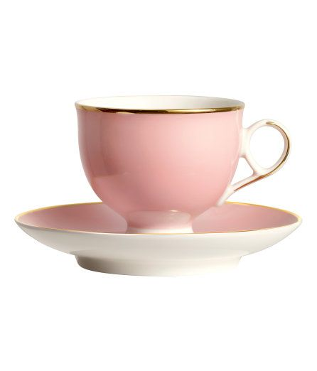 H&M Cup and Saucer $9.99 | Coffee cups and saucers, Coffee