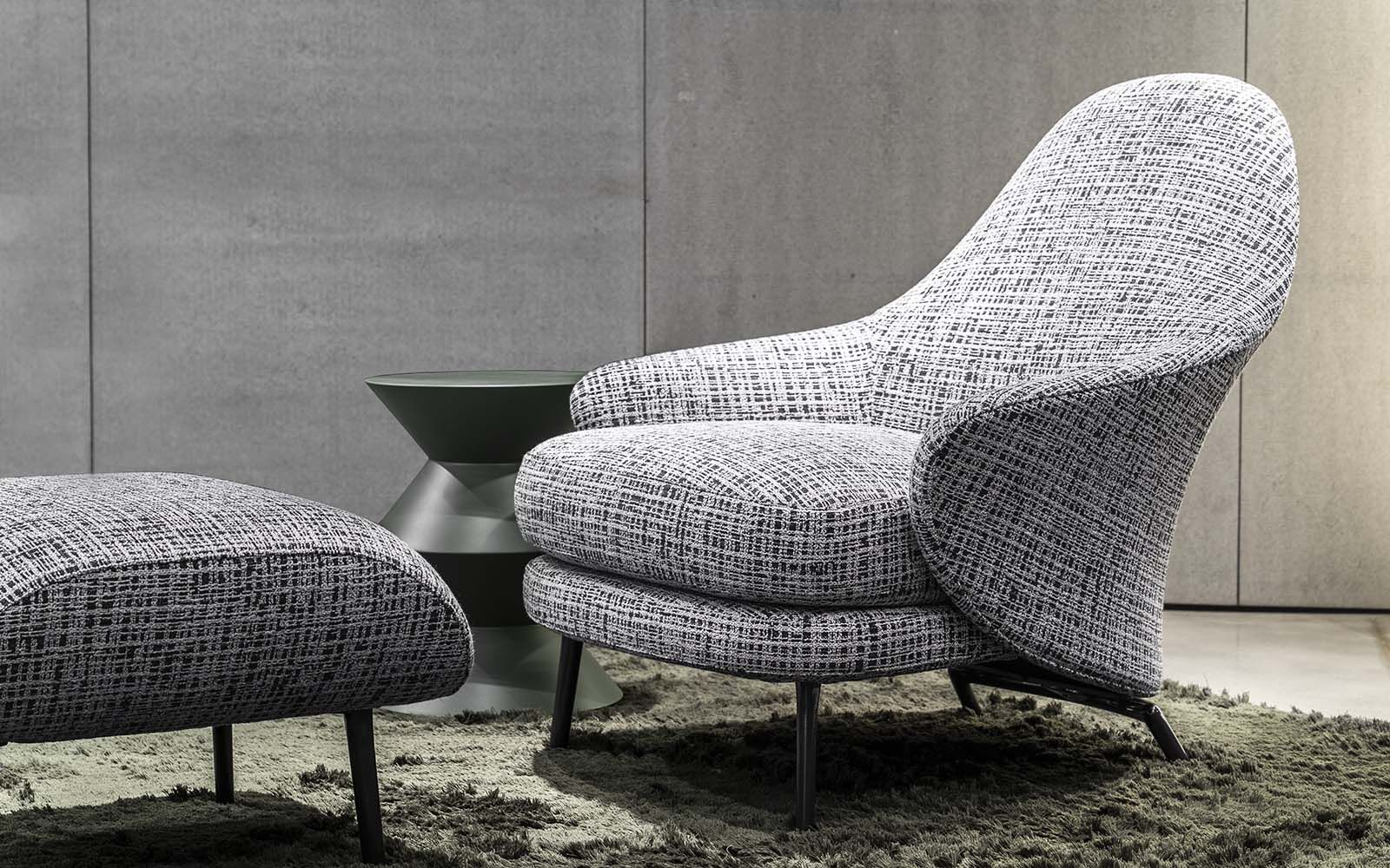 Angie Cover Gamfratesi Design Minotti 2019collection Angie Gamfratesi In 2020 Armchair Furniture Details Lounge Armchair