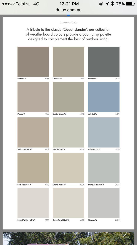 Best 25 Dulux Exterior Paint Ideas On Weatherboard Exterior House Paint Color Combinations Exterior Paint Colors For House Dulux Exterior Paint Colours