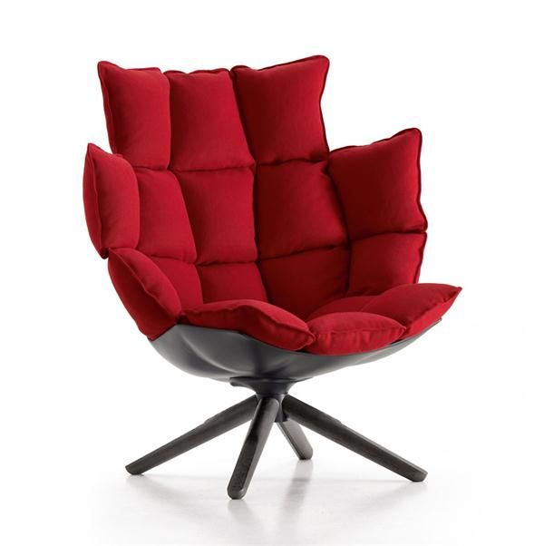 Husk From B B Italia Italian Furniture Design Armchair Design B B Italia