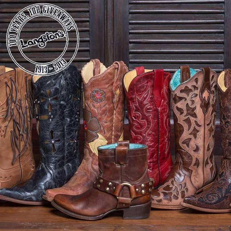 Langston's boot giveaway