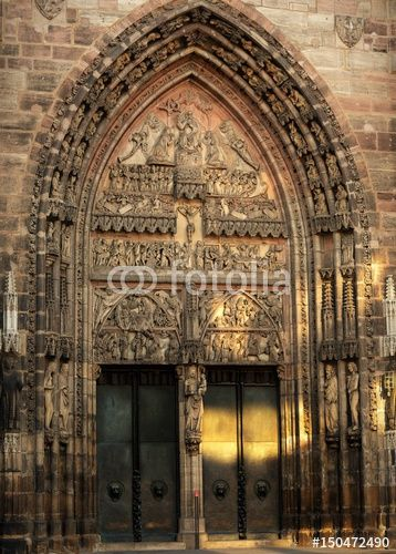 Valokuva Lorenzkirche...église saint- Laurent à Nuremberg