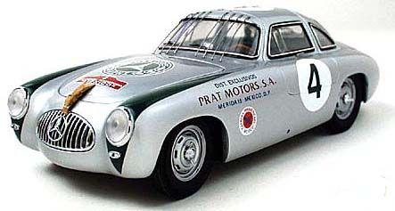PhillyMint-CMC 1952 Mercedes Benz 300SL Carrera Panamericana 1:18 model