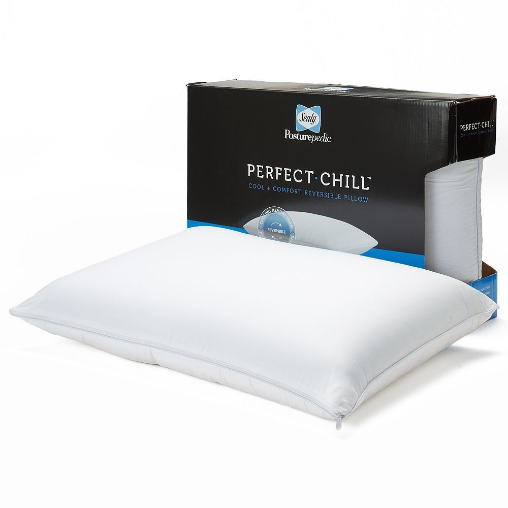 Sealy Posturepedic Perfect Chill Reversible Memory Foam Fiber