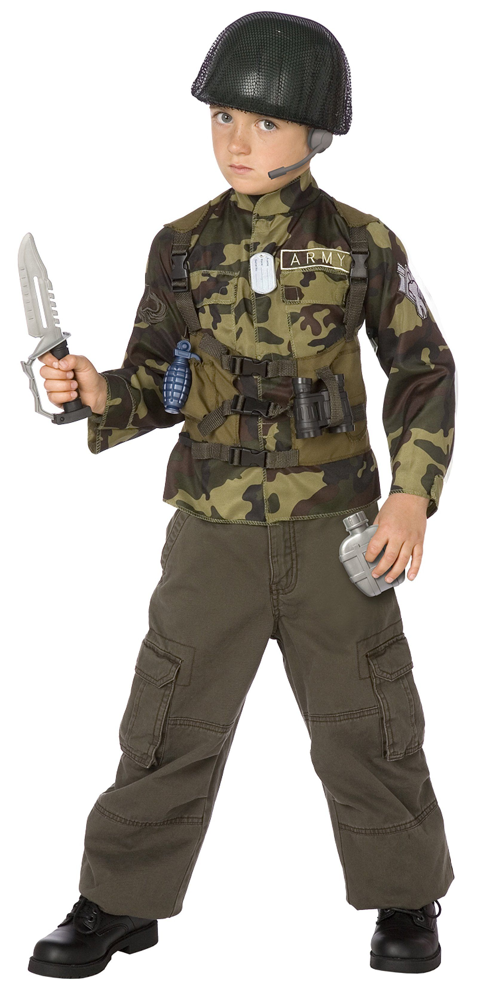 Wicked Costumes Army Helmet Plastic Hat Outfit accessory for Soldier Military Fancy Dress