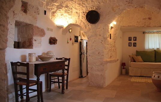 Rustikales Wohnzimmer ~ Italien apulien ostuni trullo angelo rustikales wohnzimmer