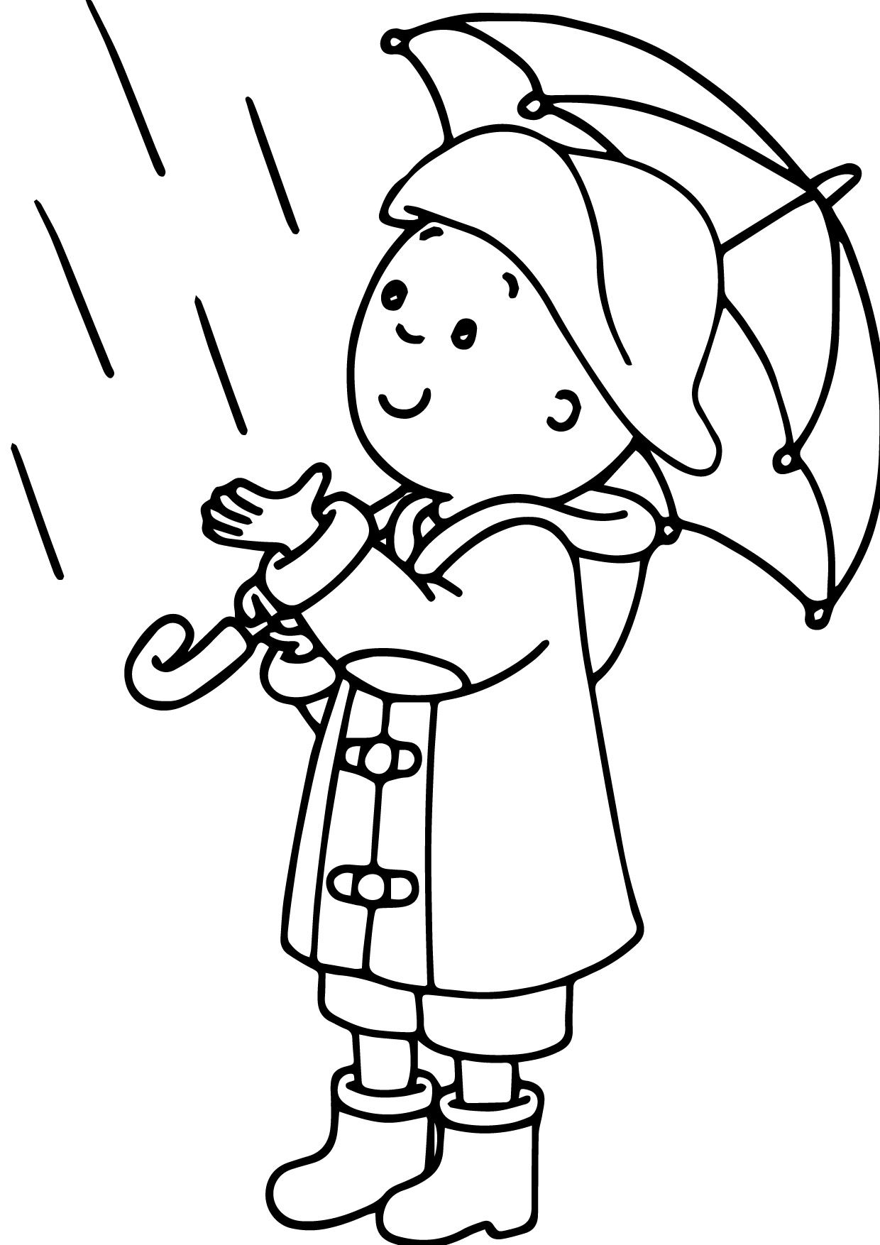 awesome Caillou Play Plane Coloring Page Check more at http://www ...