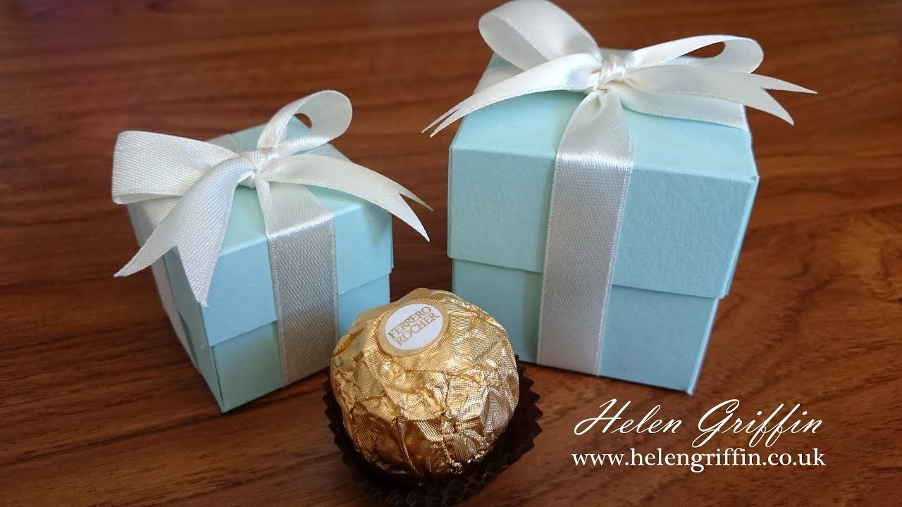 Tiffany Inspired Wedding Gift Box Tutorial With