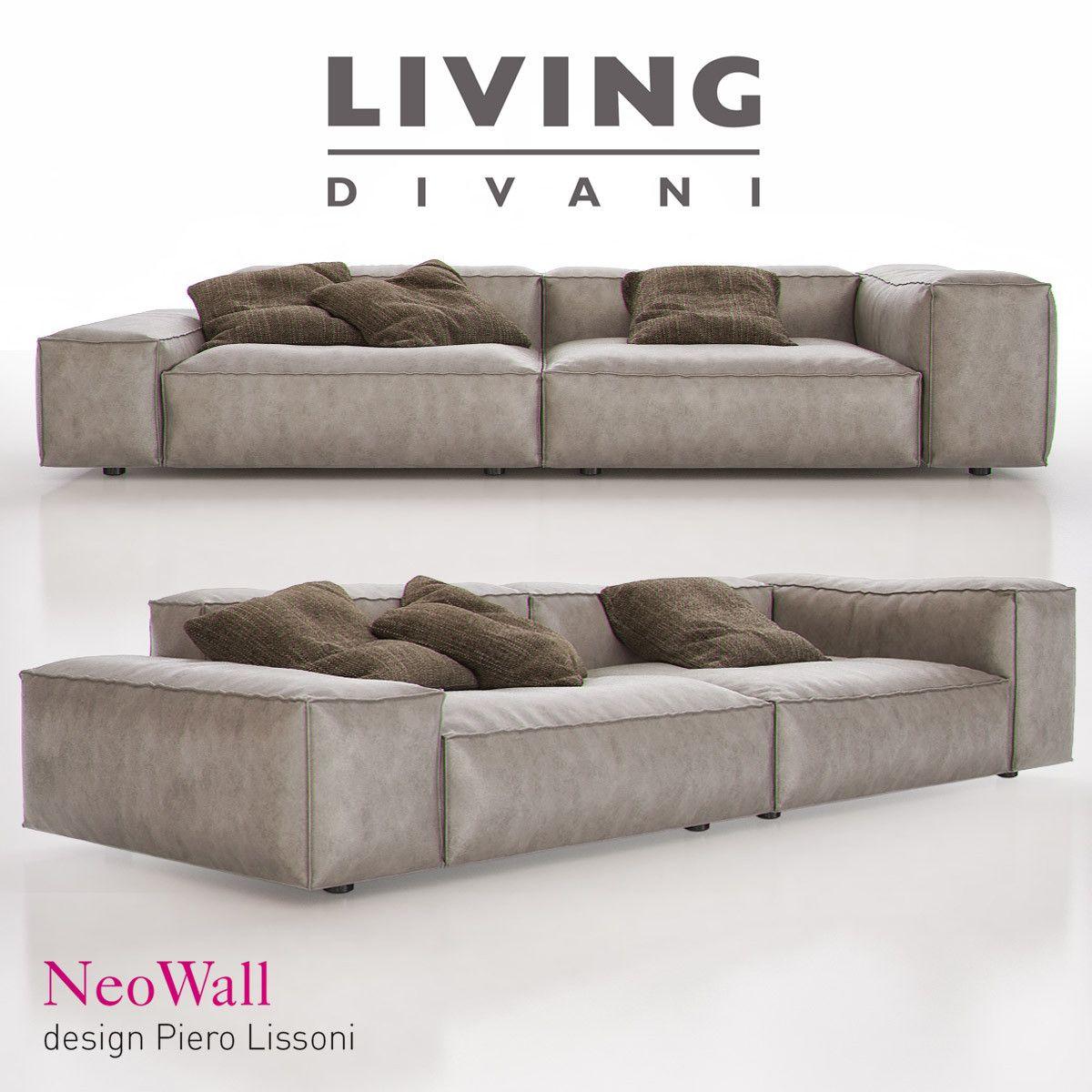 Living Divani Neowall 3D Max 3D Model l r in 2019