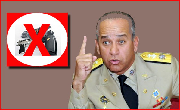 "Presencia RD: Almirante Pared Pérez entiende ""prohibición armas ..."