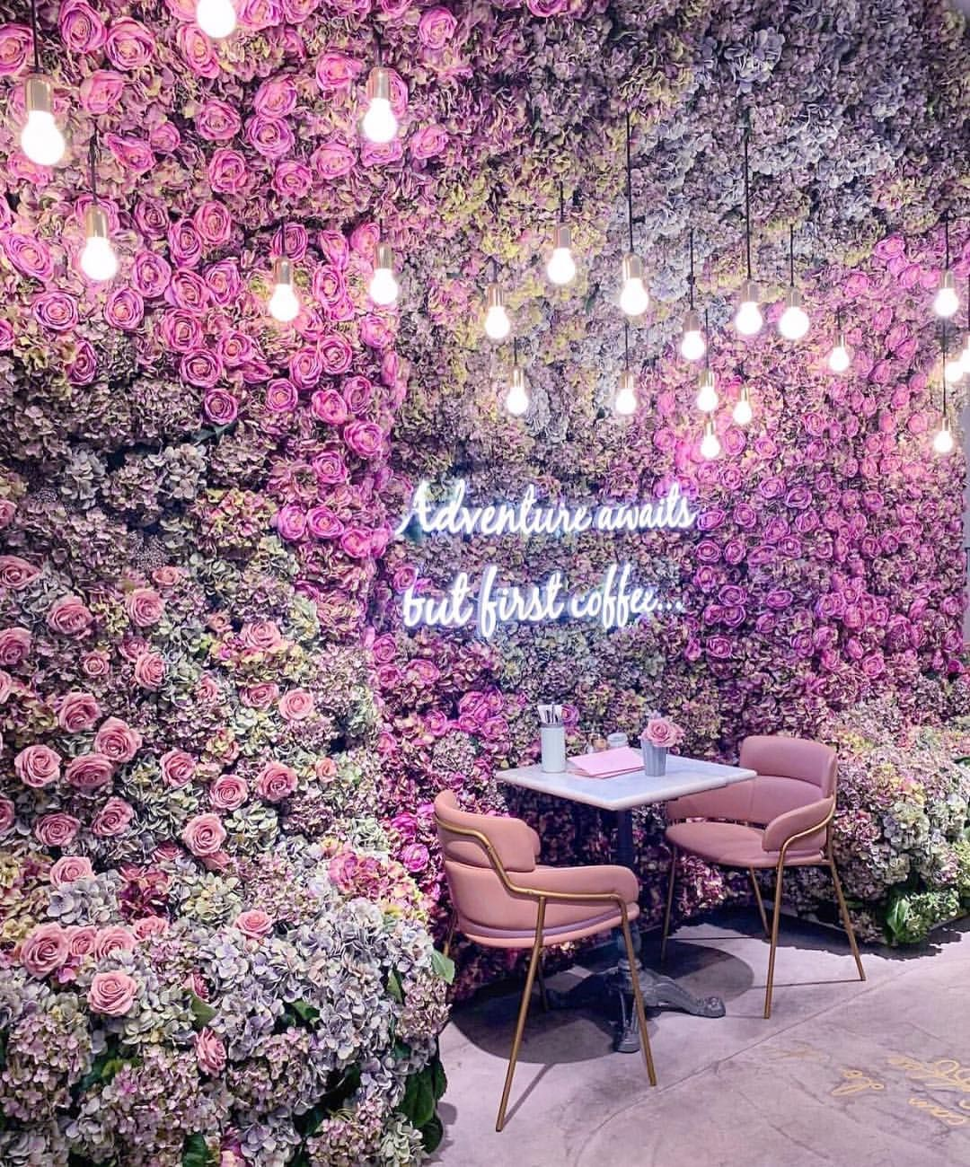 "EL&N London 🌸 on Instagram: ""The secret flower garden"