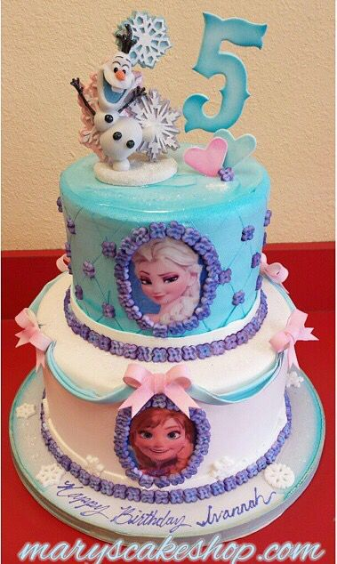 Frozen cake by Mary's Cake Shop