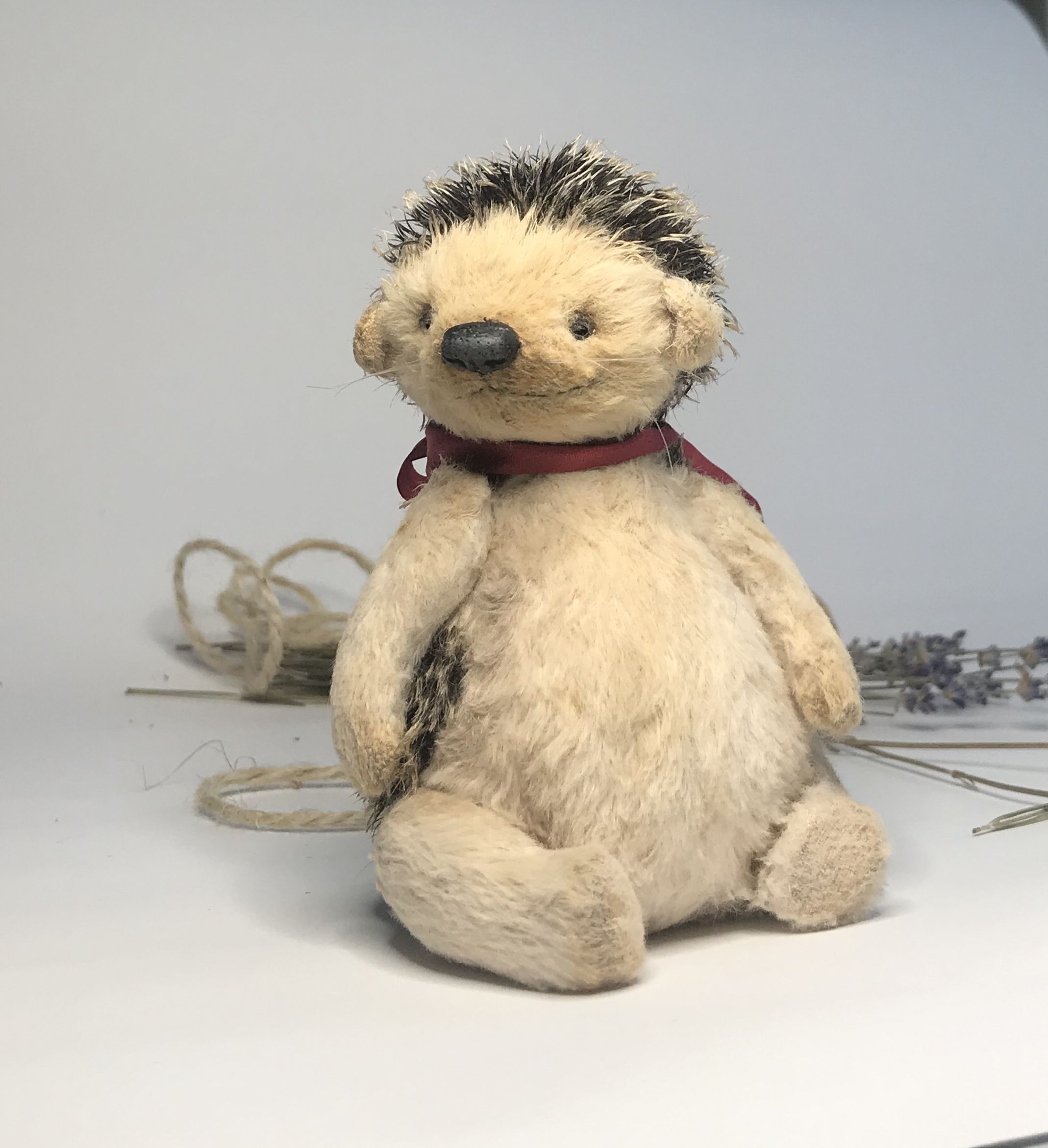 Miniature Hedgehog Stutted Toy For Home Decor Etsy Toys Pet Toys Hedgehog [ 2343 x 2138 Pixel ]
