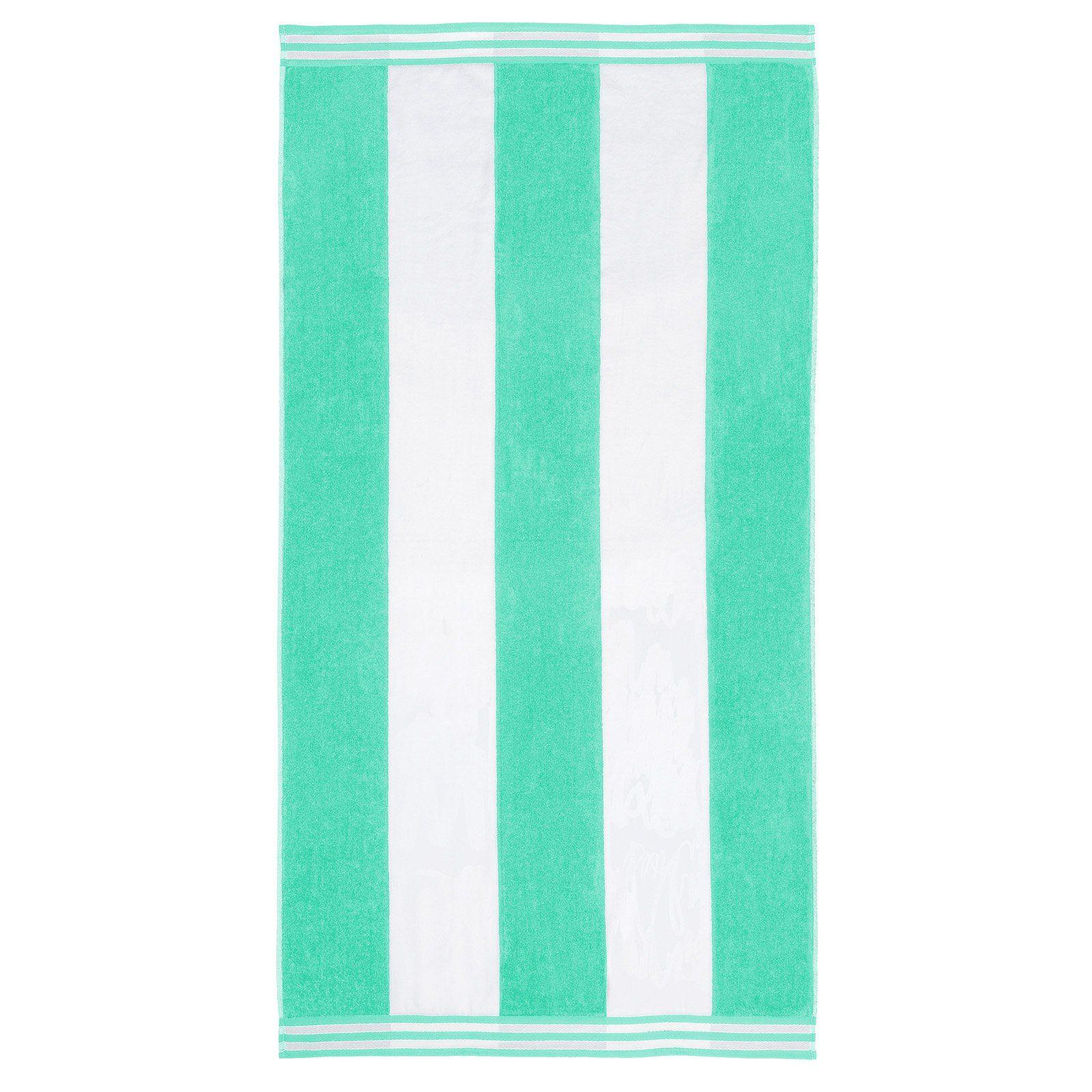 Superior Thick And Plush Cabana Stripe Beach Towel Striped Beach