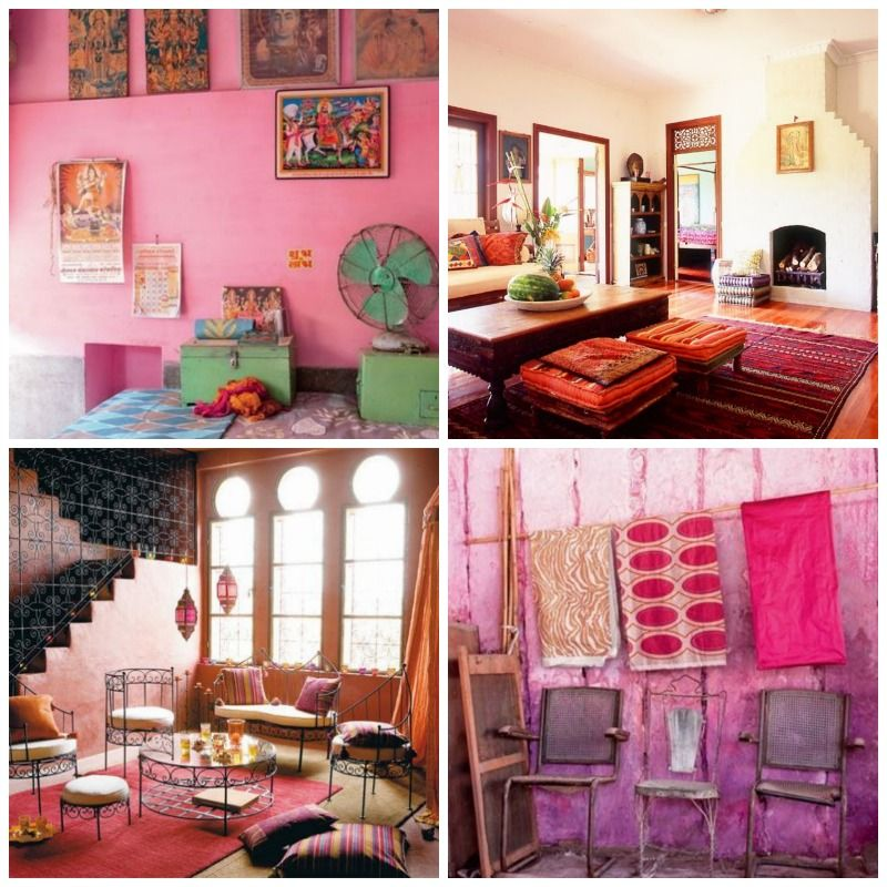 WW India: Pink Mania. To make a pink room feel less feminine, add ...
