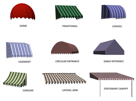 Different Types Of Shed Sunbrella Awning Canopy Metal Canopy Bed