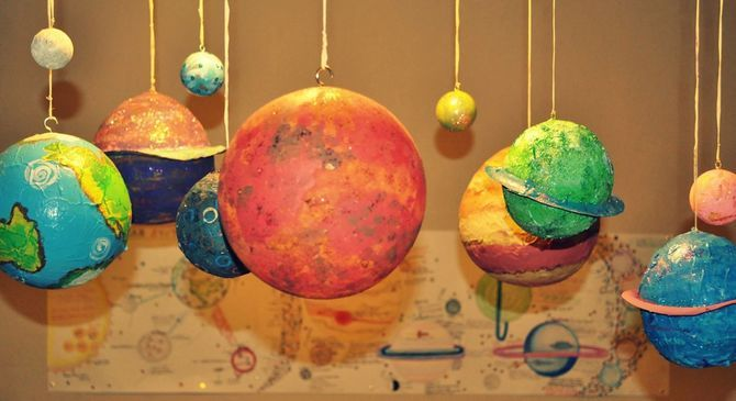 making planets out of balloons - photo #4