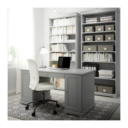 LIATORP Boekenkast - grijs - IKEA | Home | Pinterest | Schreibtische ...