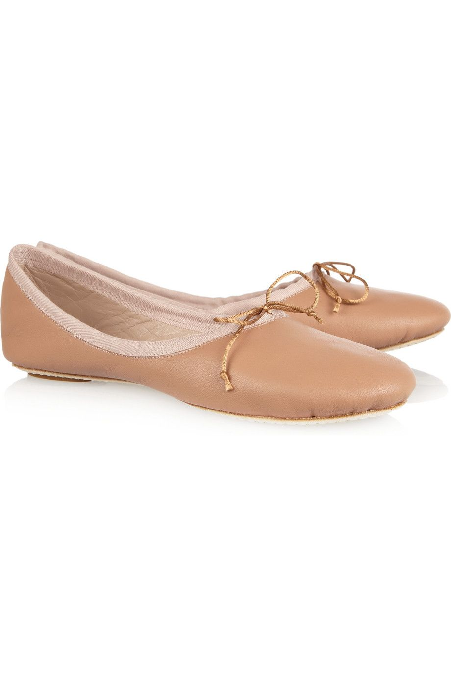 Chloé Leather Ballet Slippers