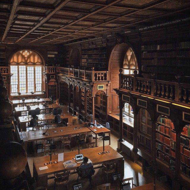 """Duke Humfrey's Library 