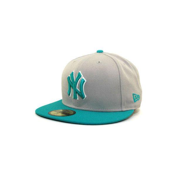 New York Yankees New Era 59fifty Mlb Gray Tone Hats At Lids Com 35 Liked On New Era Hats Yankees Cap Yankee Fitted
