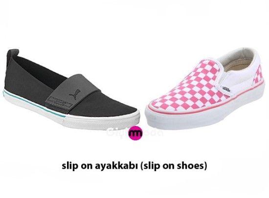Slip On Ayakkabi Slip On Shoes Ayakkabilar Ayakkabilar