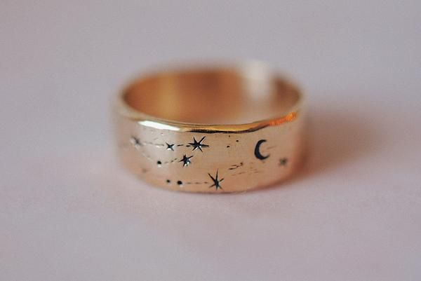 Wide Written In The Stars Ring Beautiful Jewelry Jewelry Jewelry Accessories