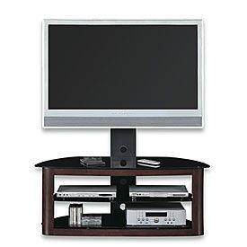 Wood Glass Swivel Mount Tv Stand Swiveltvstandideas Swivel Tv