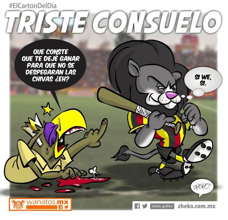 """Triste consuelo"" #ElCartonDelDia #Zheko_grafico #DusfrutenloConLeche"