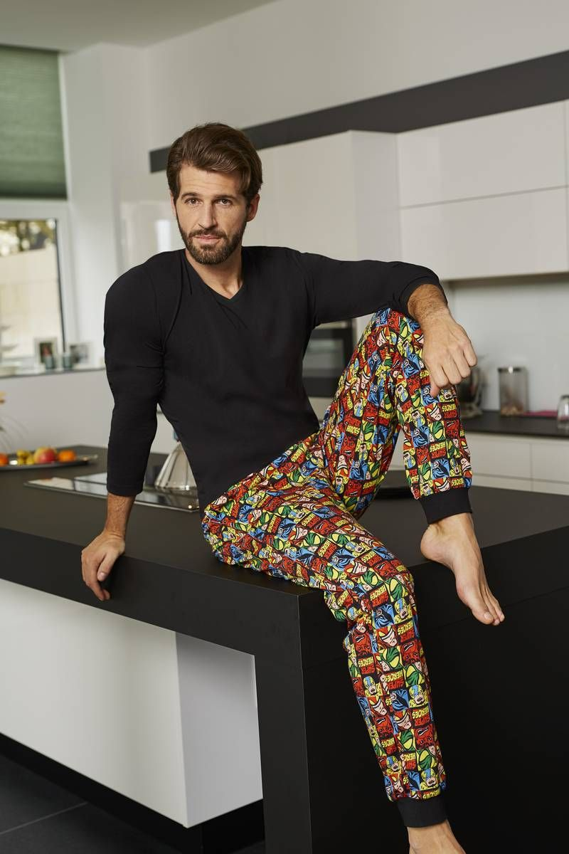wholesale dealer d7c80 97b15 Ringella Men Pyjama 7541202 Eine trendige Hose im angesagten ...