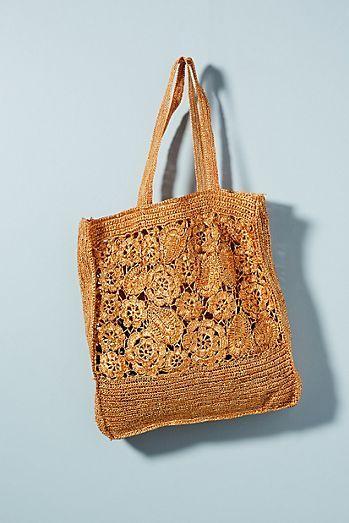 49f2e85a9e Antik Batik Holea Raffia Tote Bag   batik   Bags, Knitted bags, Tote Bag