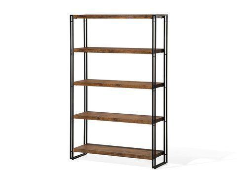 boekenkast bruin 5 planken anaheim_690158