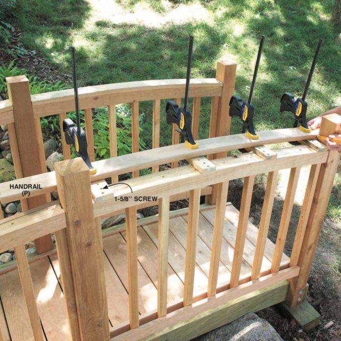 How to Build a Classic Arched Backyard Bridge | Backyard ...