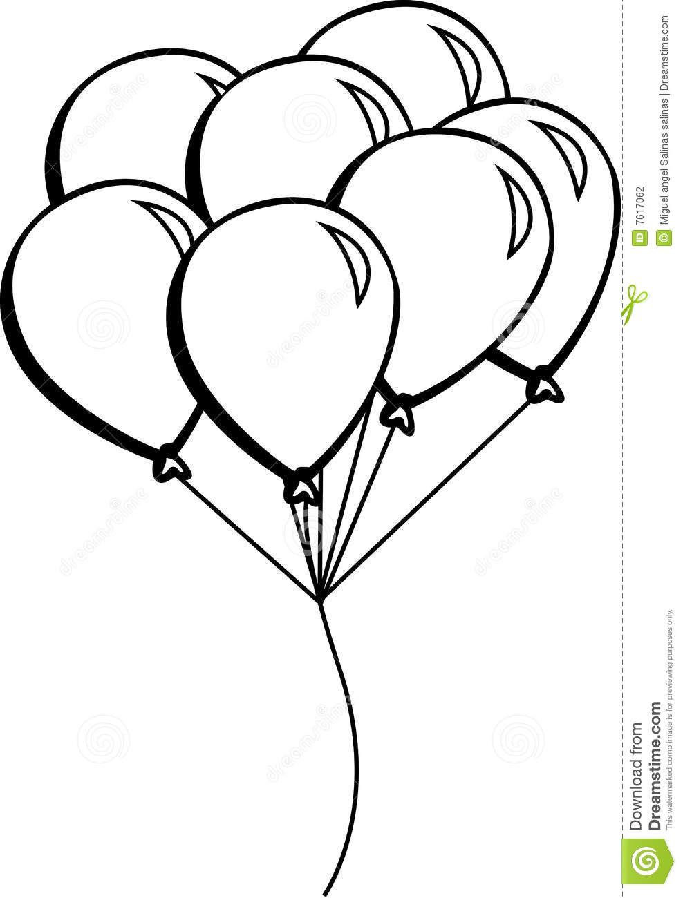 Image result for how to draw a bouquet of balloons  School