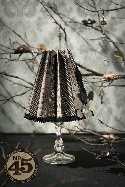 Абажур (candle lamp) - отпечатки