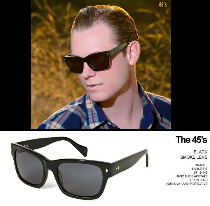 a2fb1f92122f The 45's Sunglasses by Tres Noir- BLACK | Tres Noir Sunglasses ...