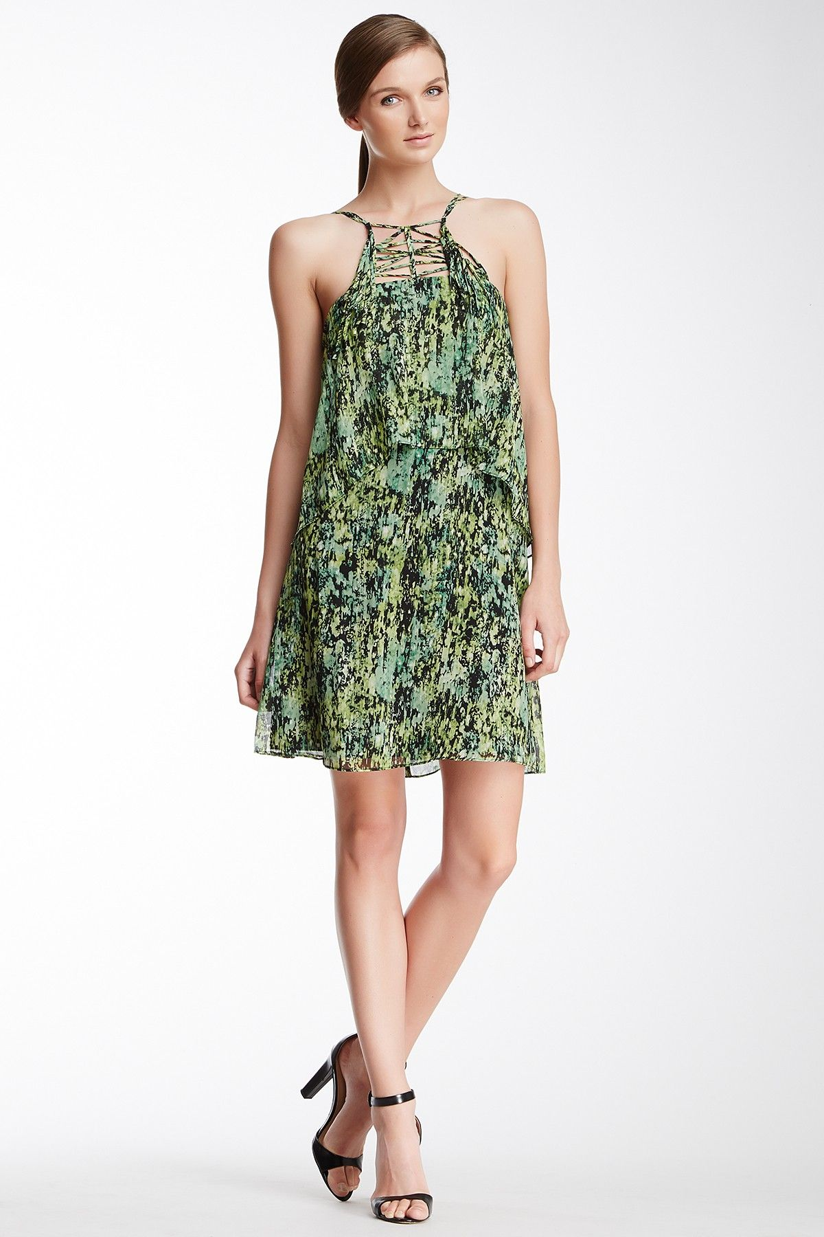 d1b0f5ec0a2bd BCBG Kaia Two-Tiered Silk Dress by BCBGeneration on  nordstrom rack