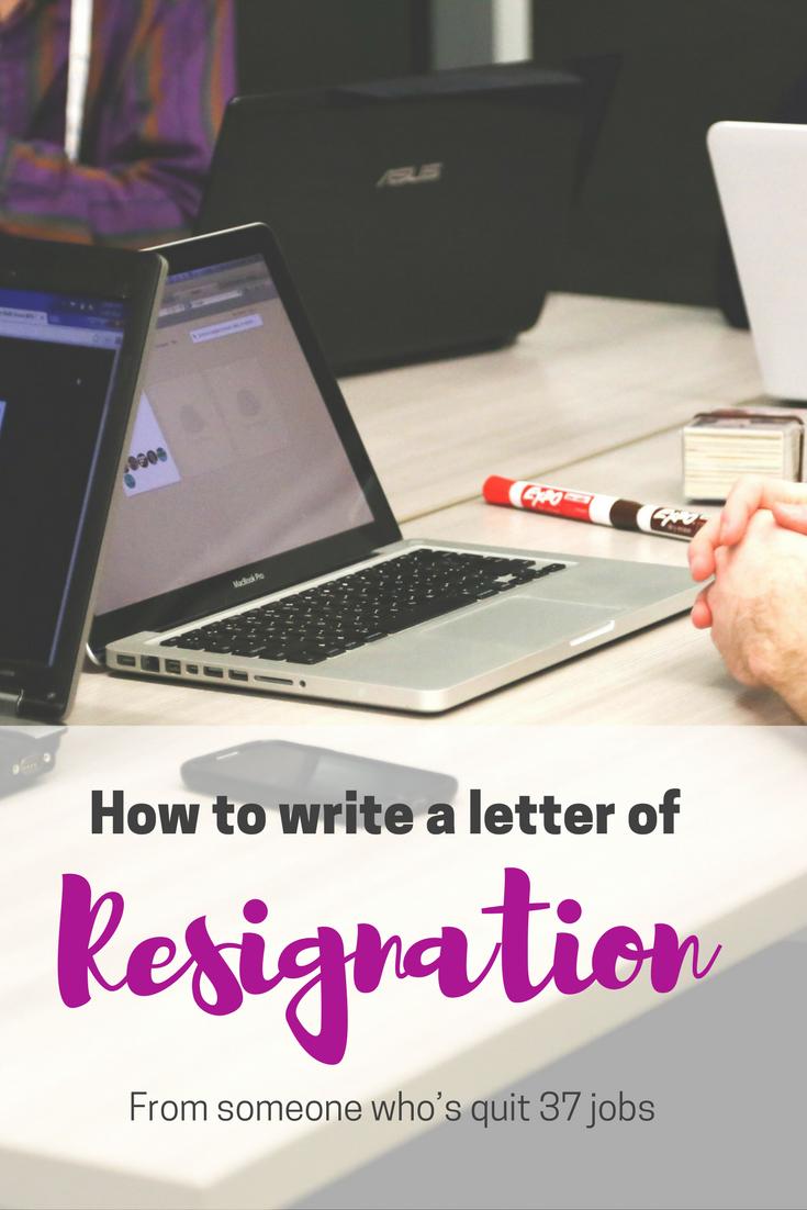 letter of resignation maternity leave%0A positive resignation letter sample