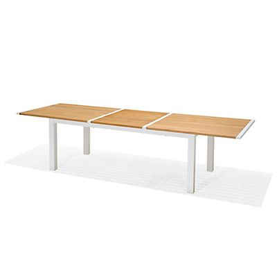 Table de jardin extensible en teck (6 à 10 places) | Meubles ...