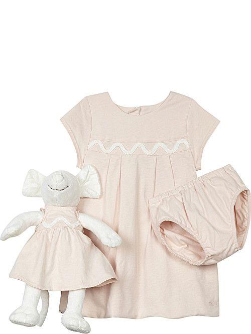 7881558642189 CHLOE Cotton dress   mouse set 1-9 months