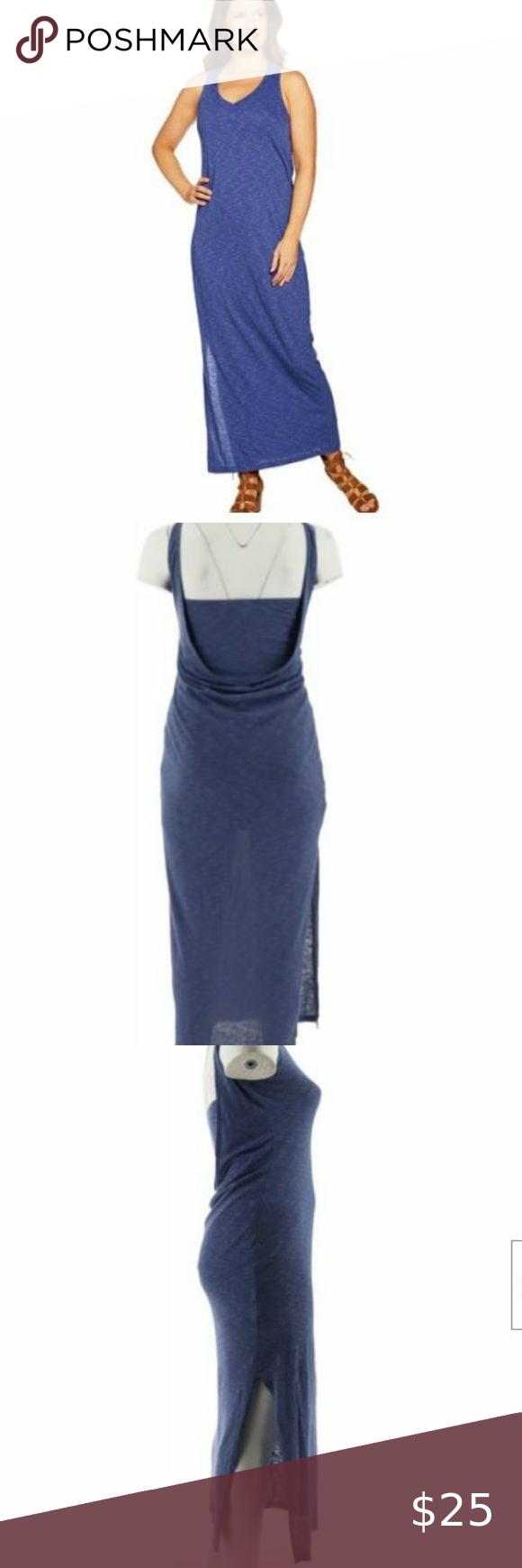 Peace Love World Drape Back Slub Knit Maxi Dress Maxi Knit Dress Slub Knit Maxi Dress [ 1740 x 580 Pixel ]