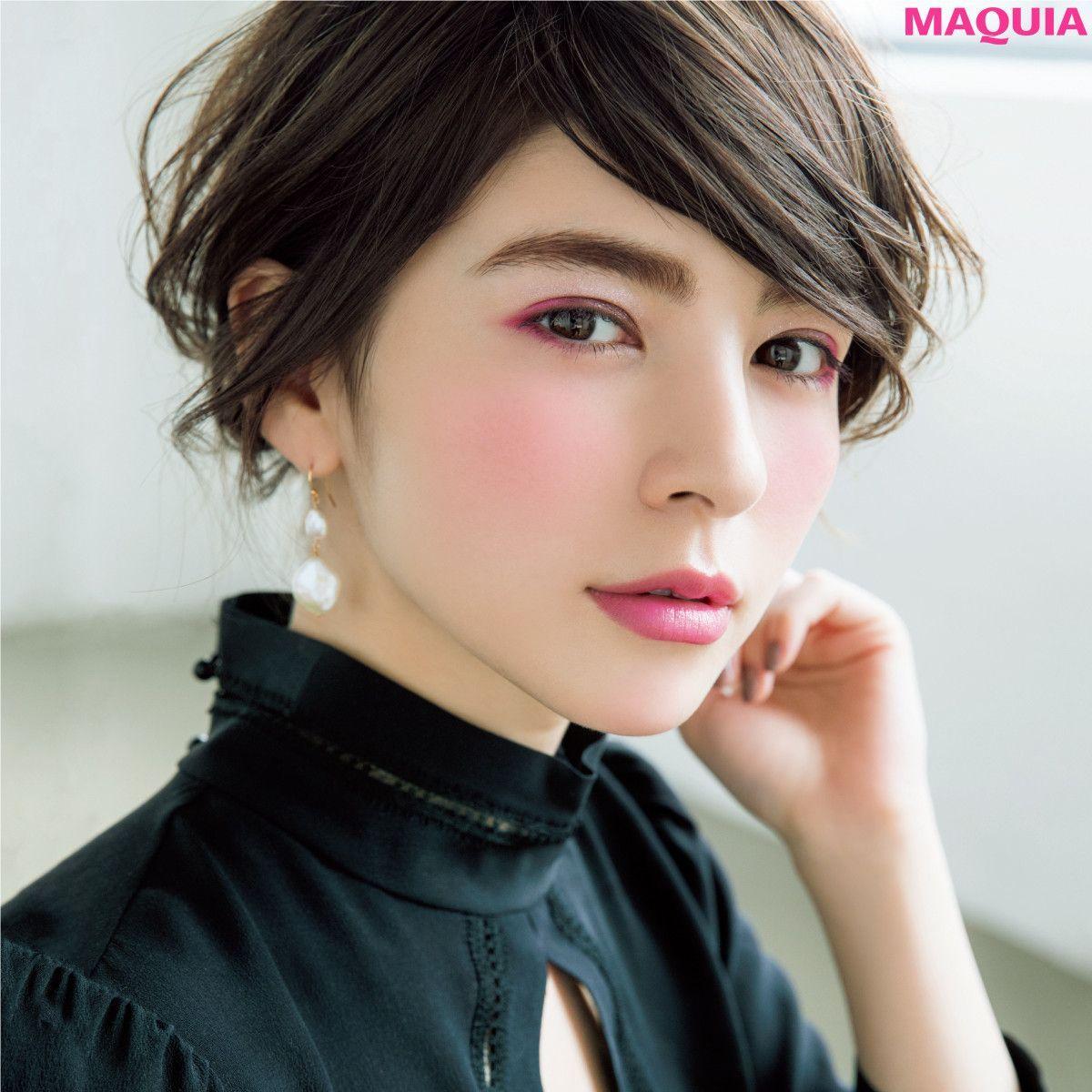 「MAQUIA」9月号では、人気アーティストの千吉良さんのお