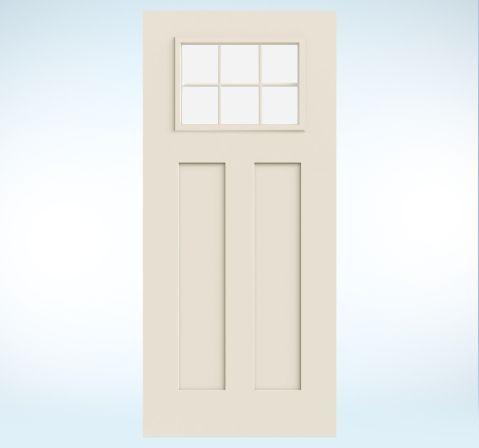 Smooth Pro Fiberglass Glass Panel Exterior Door Exterior Doors