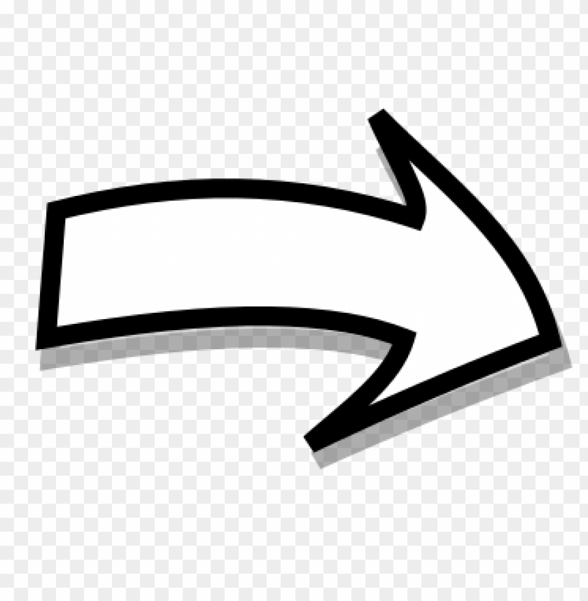 Arrow Right Png White Png Image With Transparent Background Png Free Png Images Curved Arrow Arrow Image Transparent Background